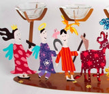 Passover Seder Plate Animals People - Tzuki Studio