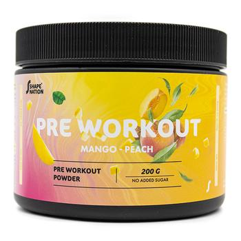 Pre Workout - ShapeNation - Mango/Peach