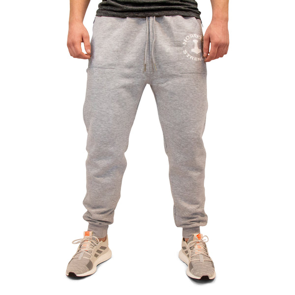 Jogginghose Basic - Graue Herrenhose