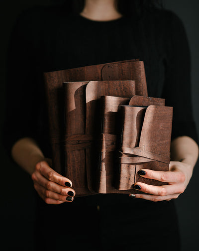 VEGAN LEATHER JOURNALS