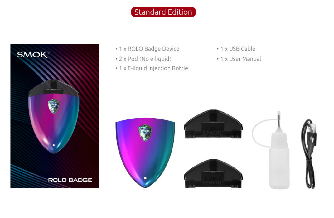 SMOK ROLO Badge Starter Kit