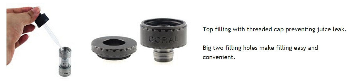 Coral 200W 5mL Top Fill Tank