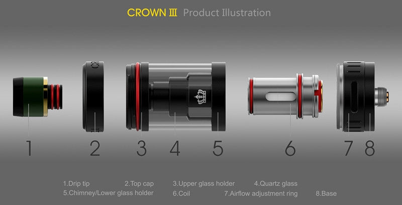 Uwell Crown 3 Sub-Ohm Tank