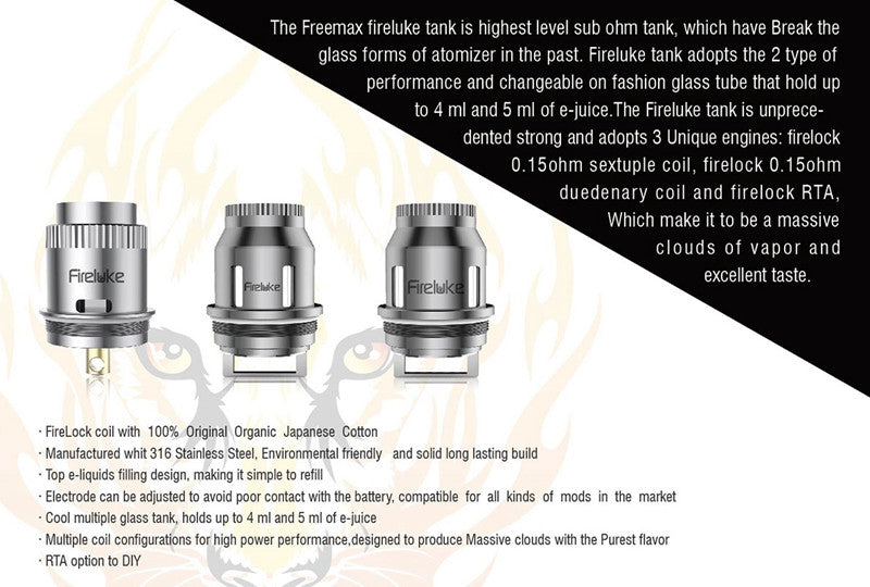 FreeMax Fire Luke Tank & RTA