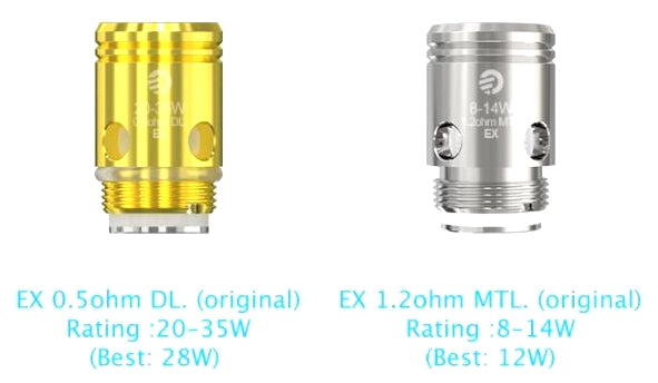 Joyetech EX Coils for Exceed D19 Starter Kit (5pcs)