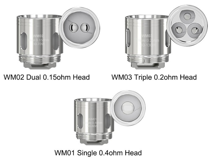 Wismec WM Coils for GNOME Sub-Ohm Tank (5pcs)