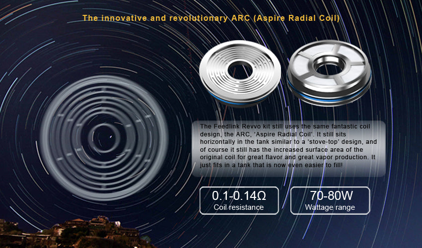 Aspire Feedlink Revvo Boost ARC Coils (3pcs)