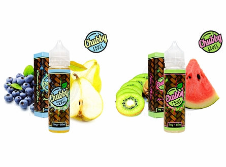 Chubby Fruit Vapes E-Liquid 60mL