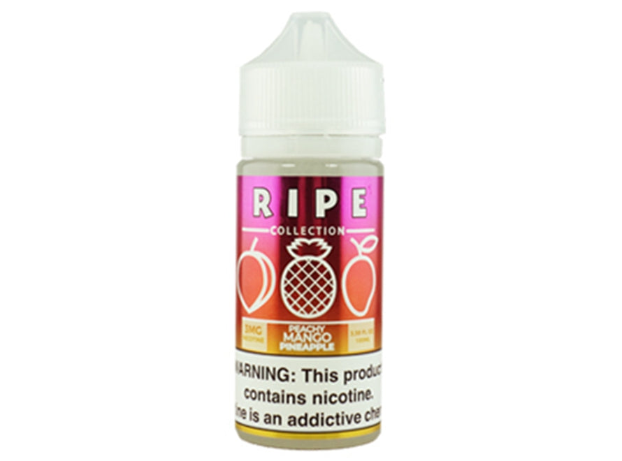 Ripe Collection 100mL E-Liquid - Peachy Mango Pineapple