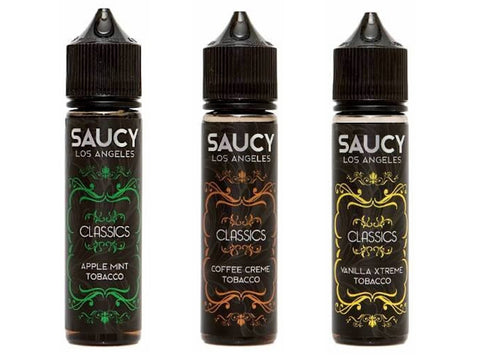 Saucy Classics 60mL E-Liquid