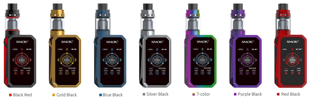 SMOK G-Priv 2 230W & TFV8 X-Baby Touch Screen Starter Kit