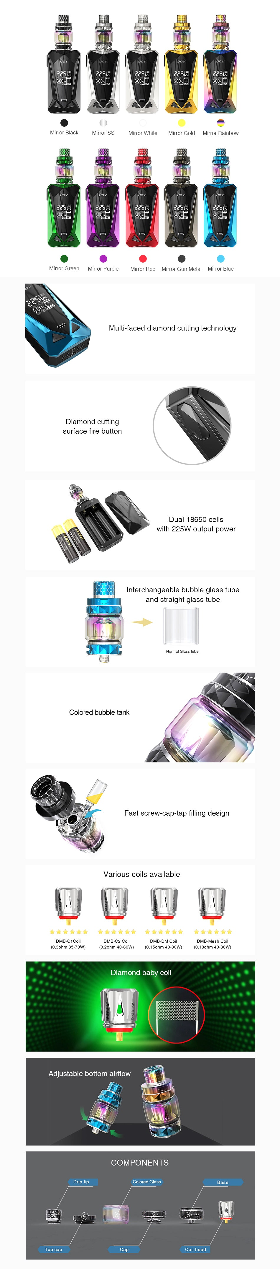 IJOY Diamond Mini 225W TC Kit