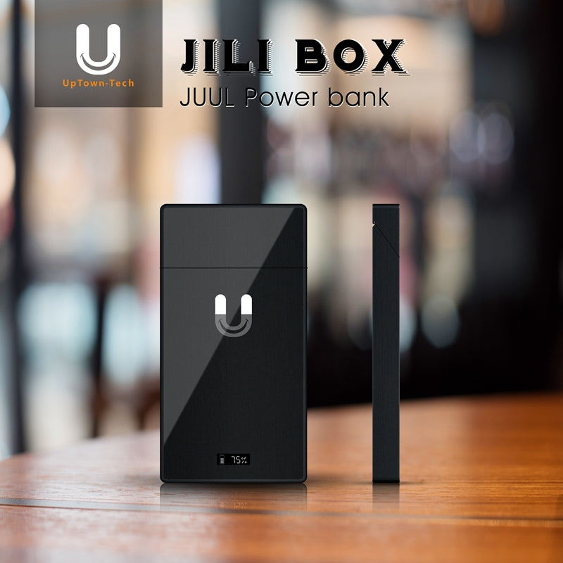 Uptown Tech JILI Box Personal Charging Case Power Bank for JUUL
