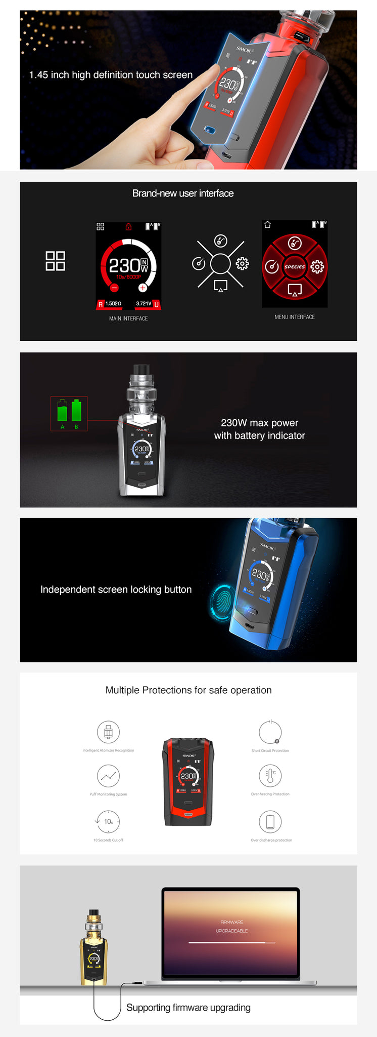 Smok Species Box Mod