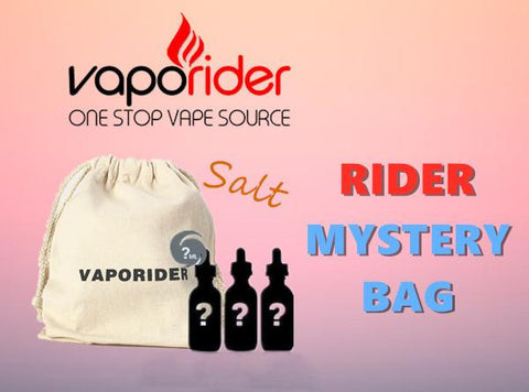 Rider Mystery Bag -Salt (3 Bottle Box) - Vaporider
