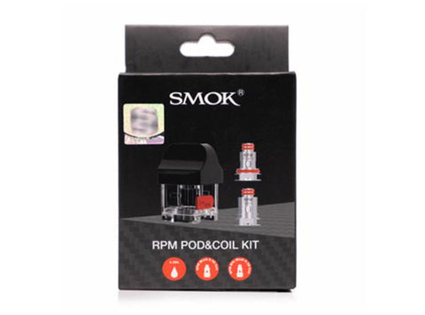 SMOK RPM Replacement Pod & Coil Kit (1 Pod / 2 Coils) - Vaporider