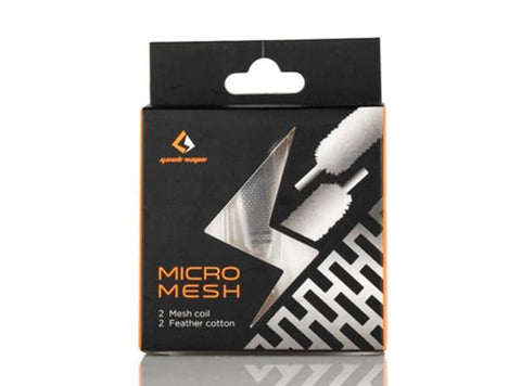 Geekvape Zeus X Mesh RTA Cotton and Mesh Coil Set - Vaporider