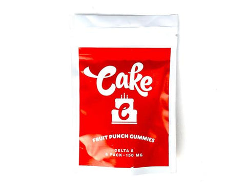 Cake Delta 8 Fruit Punch Gummies