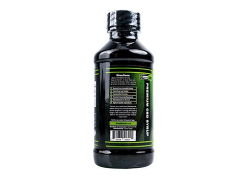 Hemp Bombs Broad Spectrum Fruit Punch 4oz CBD Syrup 100MG