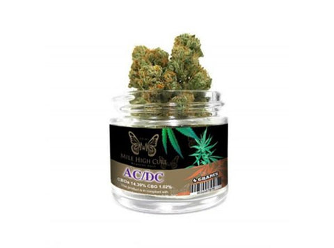 Mile High Cure Premium CBD Hemp Flower 4g Jars - Vaporider