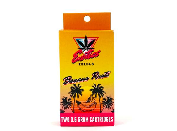 Exotics Delta 8 Vape Cartridge