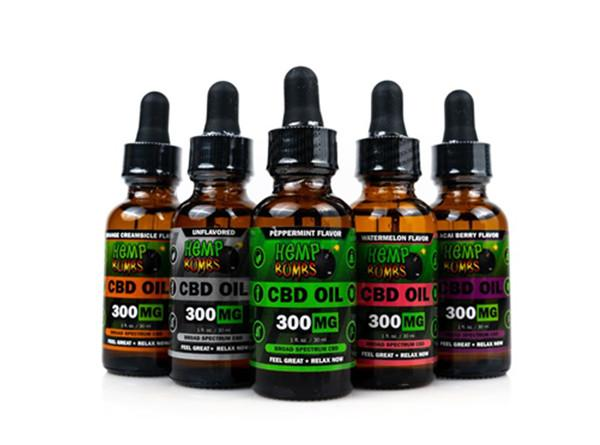 Hemp Bombs 30ML CBD Oil 600MG/1000MG - Vaporider