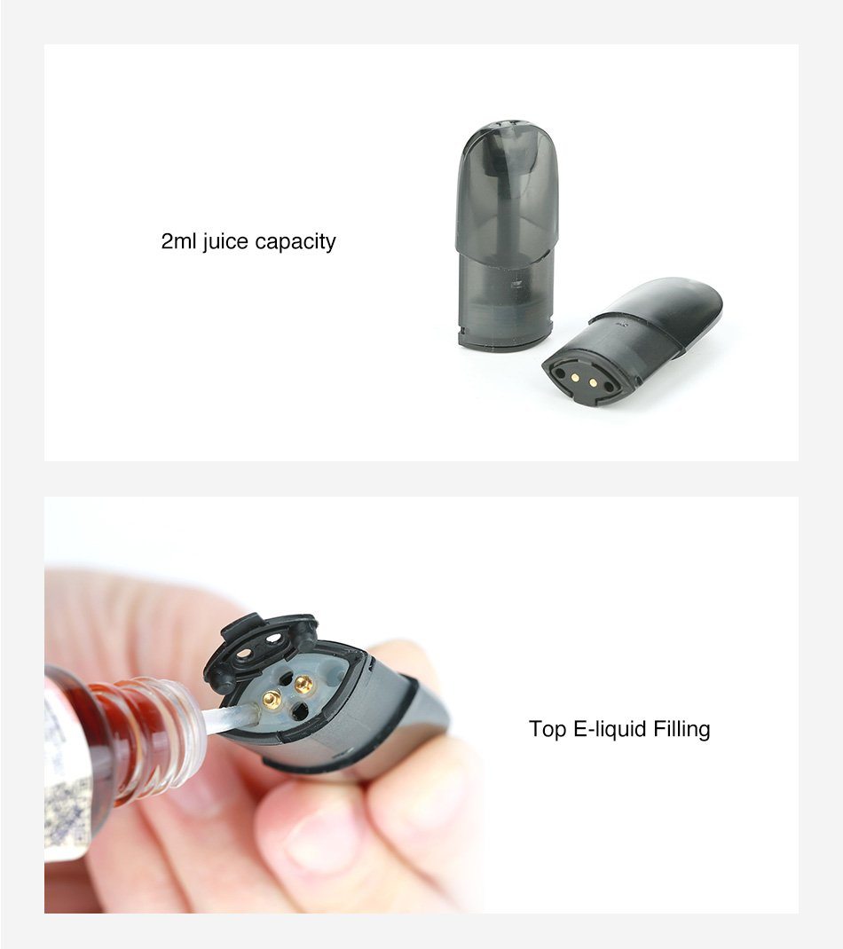 IPHA Zing Pod 2ml Cartridge (3pcs) - Vaporider