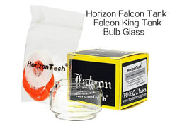7mL Bulb Pyrex Glass Tube for Horizon Falcon/Falcon King Tank - Vaporider