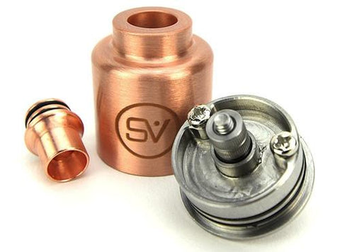 Science of Vaping SOD 5K RDA Clone - Single Top Cap - VapoRider
