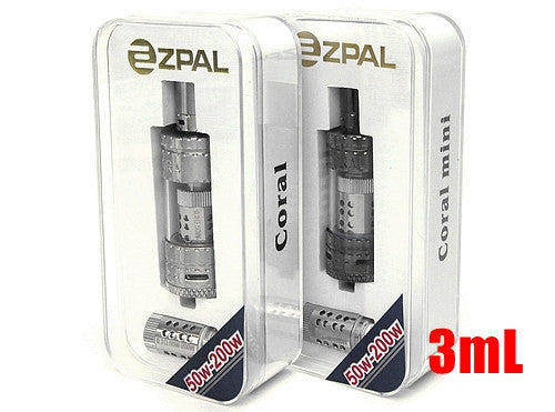Coral Mini 200W 3mL Top Fill Tank (Buy 1 Get 1 Free) - Vaporider