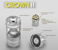 Uwell Crown II Subtank (Sweep Out Sale) - Vaporider