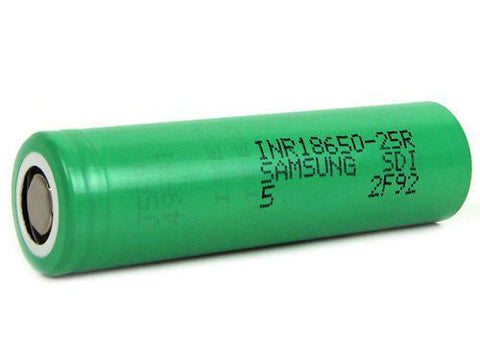 SAM*SUNG INR18650-25R Rechargeable Li-Ion Battery - VapoRider