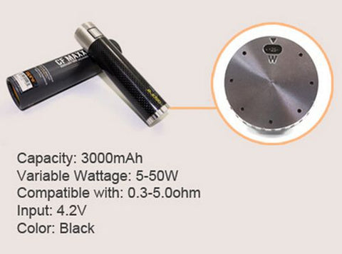 Aspire CF MAXX Battery - Vaporider