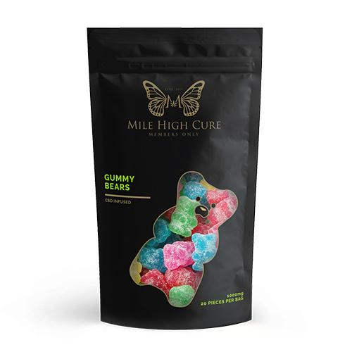 Mile High Cure 500MG/1000MG Gummies | VapoRider Your Best Online ...