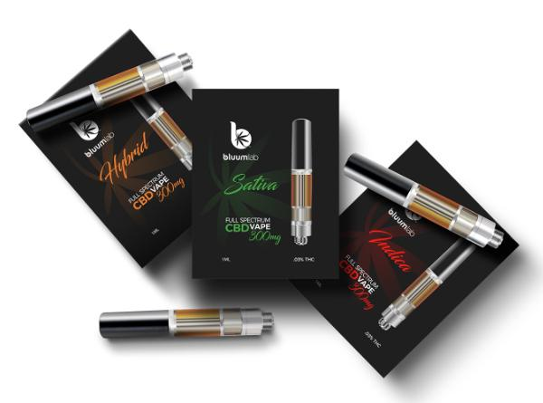 BluumLab Full Spectrum 300MG CBD 510 Cartridge - Vaporider