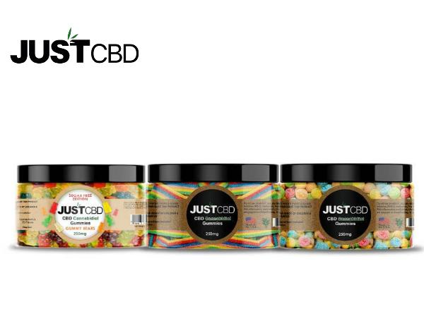 CBD Gummy 250MG by Just CBD