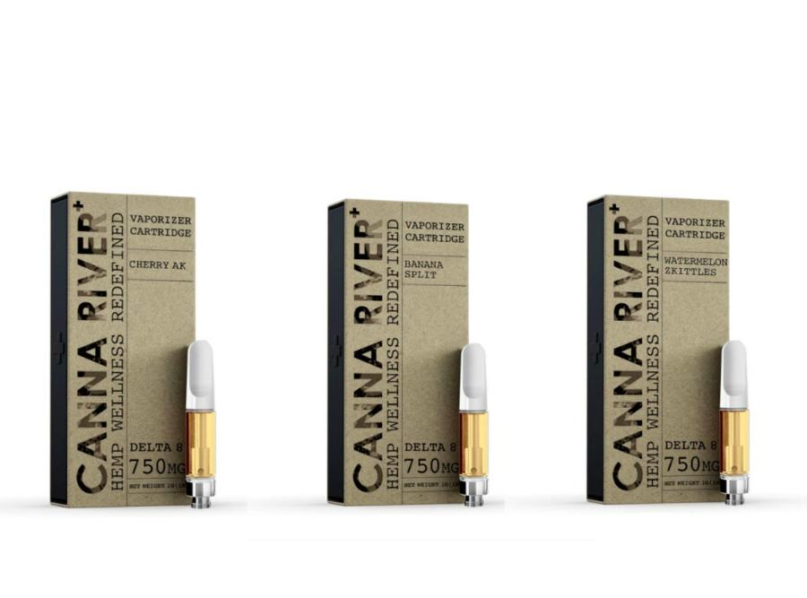 Canna River Delta 8 Cartridge