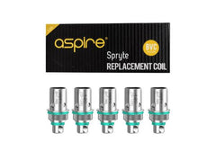 Aspire Spryte BVC Replacement Coil (5pcs) - Vaporider