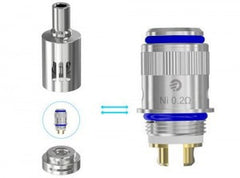 Joyetech eGo ONE Nickel/Titanium Atomizer Head (5 Pack) - Vaporider