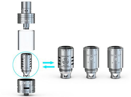 SMOK TFV4 RBA (R1/R2) (Single Pack) - Vaporider