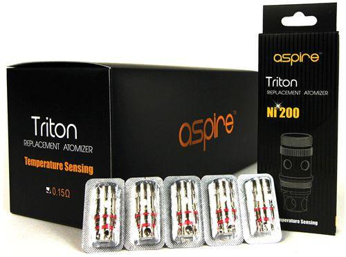 Aspire Triton/Atlantis 0.15Ω Ni200 Coils (5pcs) - Vaporider