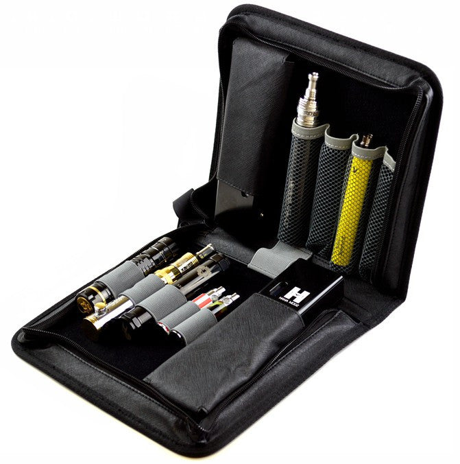 Zipper Style Carrying Case for E-Cigarettes - Vaporider