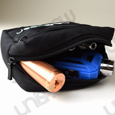 Vaporider Black Nylon Waterproof Vape Gear Waist Bag