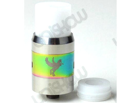 POM Top Cap Lid + Wide Bore Drip Tip 2-In-1 For Dark Horse RDA - Vaporider