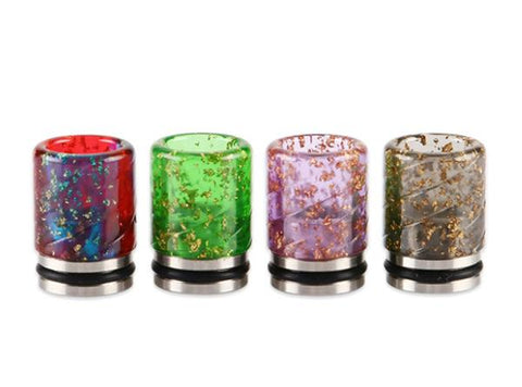 Sequins Resin 810 Drip Tip - Vaporider