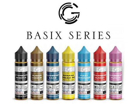 Basix Series 60mL Premium E-Liquid by Glas (New Flavors!) - Vaporider
