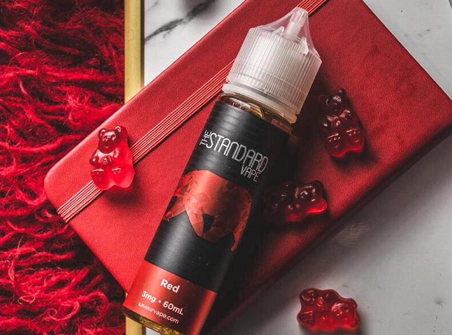 The Standard Gummy Series 60mL E-Liquid by SAVEURVape - Red Gummy - Vaporider