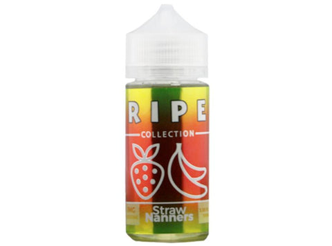 Ripe Collection 100mL E-Liquid - Straw Nanners - Vaporider