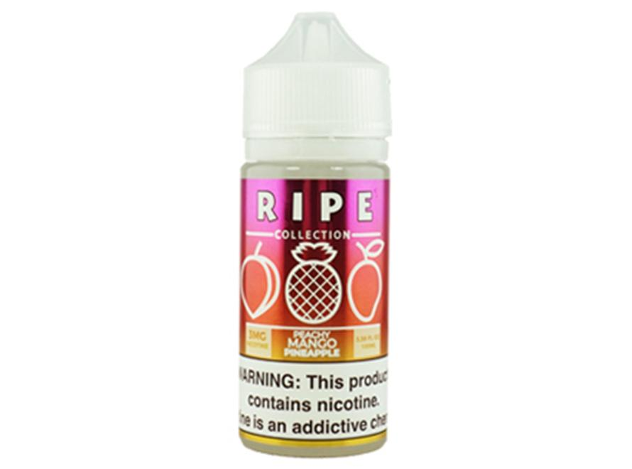Ripe Collection 100mL E-Liquid - Peachy Mango Pineapple - Vaporider