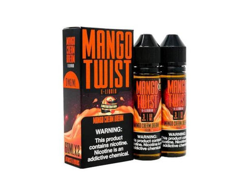 Mango Twist E-Liquid 60ML/120ML - Mango Cream Dream (Limited Edition) - Vaporider